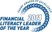 CAAMP 2014 Financial Literacy Leader of the Year
